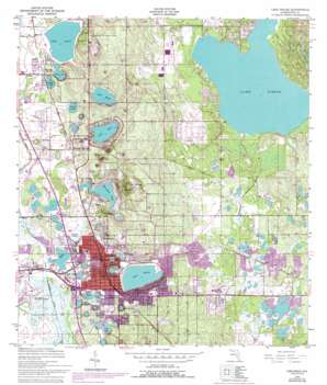 Lake Wales USGS topographic map 27081h5