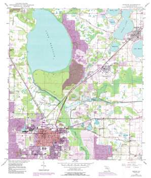 Bartow USGS topographic map 27081h7