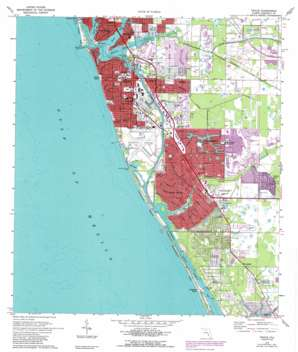 Venice USGS topographic map 27082a4