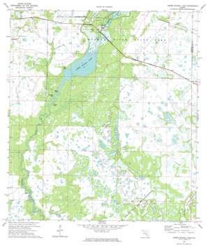 Lower Myakka Lake USGS topographic map 27082b3