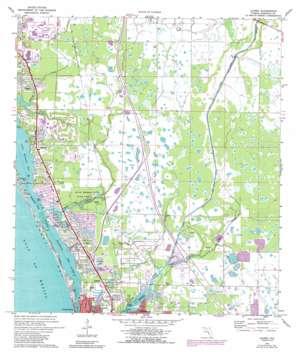 Laurel topo map