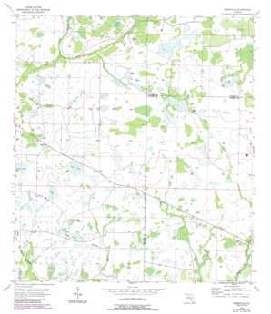 Edgeville USGS topographic map 27082c1