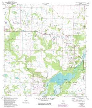 Old Myakka USGS topographic map 27082c3