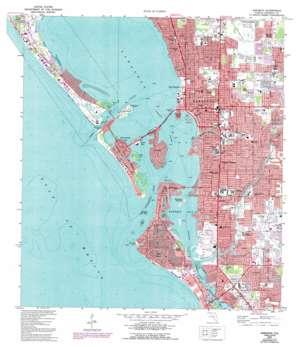 Sarasota USGS topographic map 27082c5