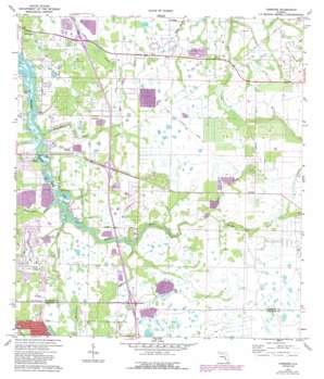 Lorraine USGS topographic map 27082d4