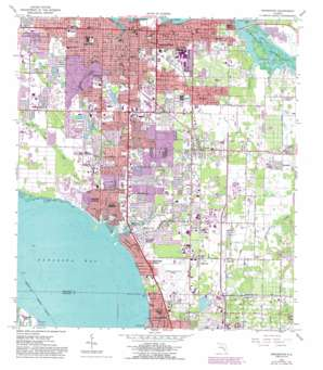 Bradenton USGS topographic map 27082d5