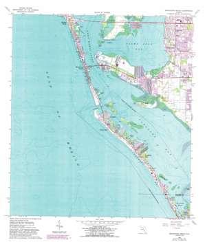 Bradenton Beach USGS topographic map 27082d6