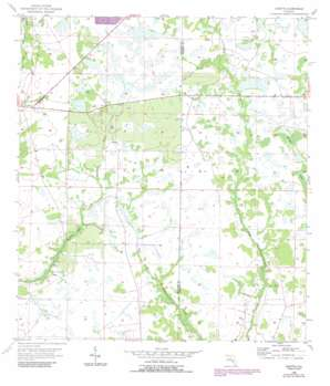 Duette USGS topographic map 27082e1