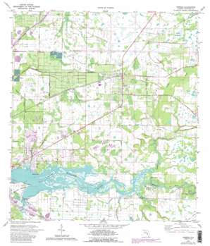 Parrish USGS topographic map 27082e4