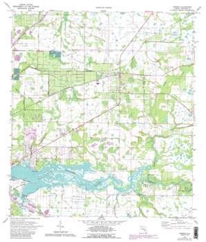 Parrish topo map