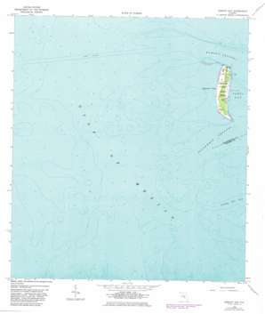 Egmont Key USGS topographic map 27082e7