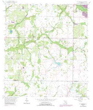 Fort Lonesome topo map