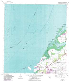 Cockroach Bay USGS topographic map 27082f5