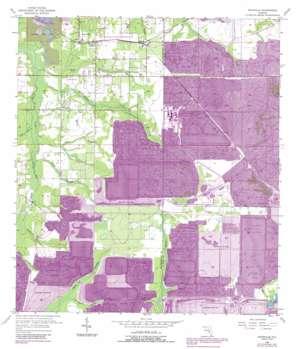 Keysville USGS topographic map 27082g1