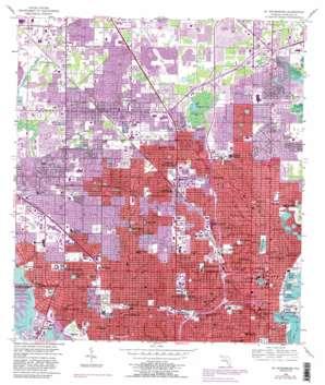 Saint Petersburg USGS topographic map 27082g6