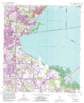 Safety Harbor USGS topographic map 27082h6