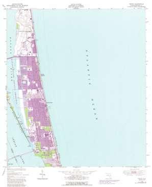 Tropic USGS topographic map 28080b5