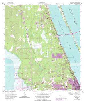 Eau Gallie USGS topographic map 28080b6