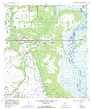 Lake Poinsett Nw USGS topographic map 28080d8