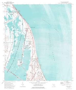 False Cape topo map