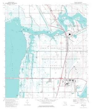 Orsino USGS topographic map 28080e6