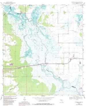 Titusville Sw topo map