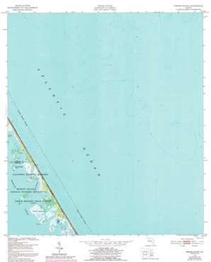 Pardon Island topo map