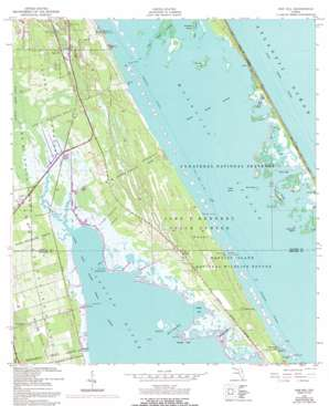 Oak Hill USGS topographic map 28080g7