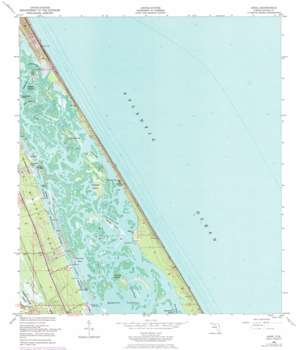 Ariel topo map