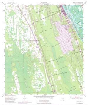 Edgewater USGS topographic map 28080h8