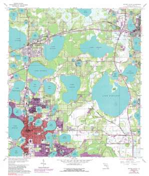 Winter Haven USGS topographic map 28081a6