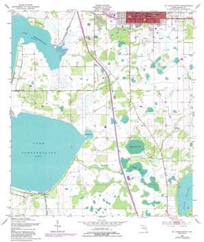 Saint Cloud South USGS topographic map 28081b3