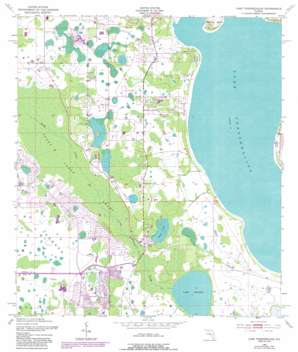 Lake Tohopekaliga USGS topographic map 28081b4