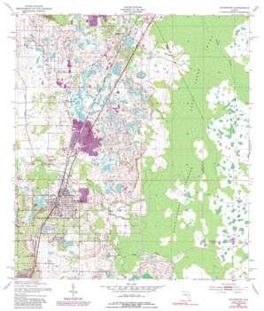 Davenport topo map