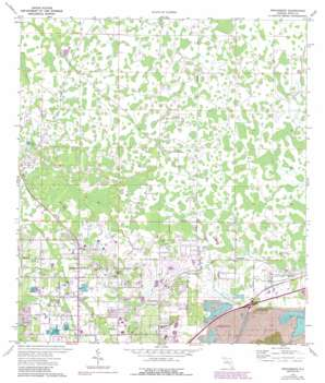 Providence topo map