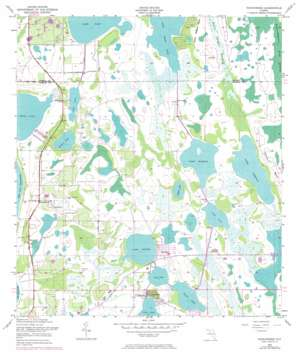 Narcoossee topo map
