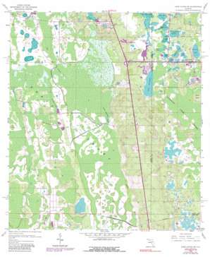 Lake Louisa Sw USGS topographic map 28081c6