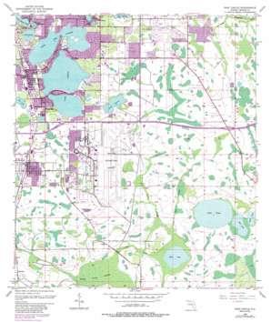 Pine Castle USGS topographic map 28081d3
