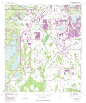 Lake Jessamine USGS topographic map 28081d4