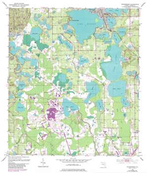 Windermere USGS topographic map 28081d5