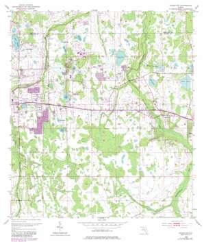 Oviedo Sw USGS topographic map 28081e2