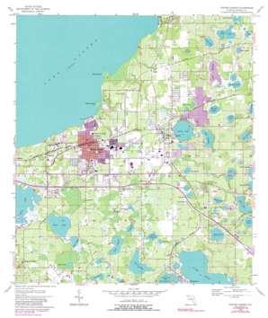 Winter Garden topo map