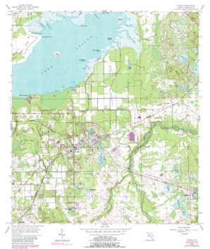 Oviedo USGS topographic map 28081f2