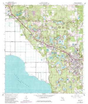Apopka USGS topographic map 28081f5