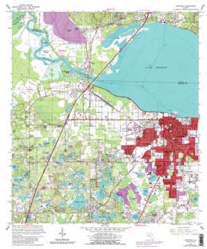 Sanford USGS topographic map 28081g3