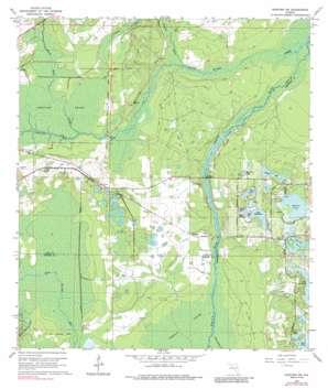 Sanford Sw USGS topographic map 28081g4