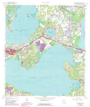 Leesburg East USGS topographic map 28081g7