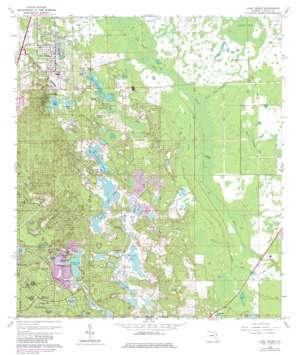 Lake Helen USGS topographic map 28081h2