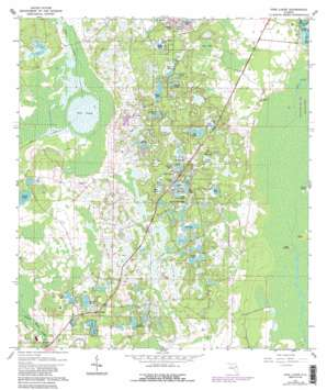 Pine Lakes USGS topographic map 28081h4