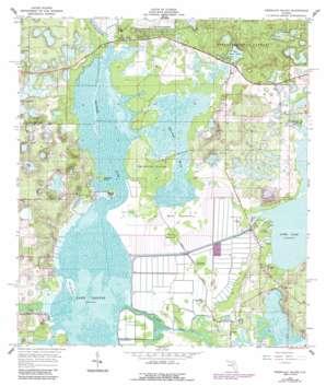 Emeralda Island USGS topographic map 28081h7